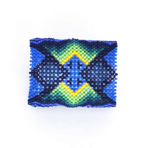 Yawanawa Wristband Tribal Beadwork